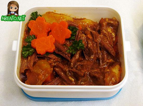 Beef Stew Bento