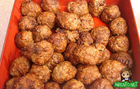 Aidell's Teriyaki Chicken Meatballs