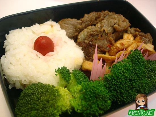 070607-Teri-Beef-Bento