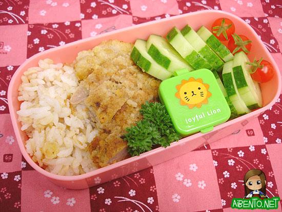 071106-Tonkatsu-Bento1