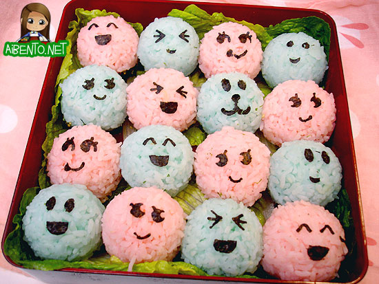 Onigiri Party Bento