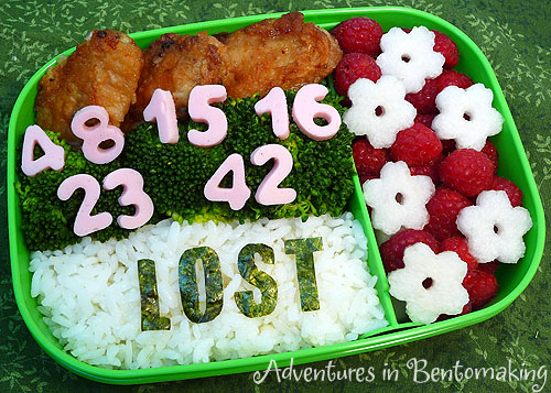 Lost Numbers Bento