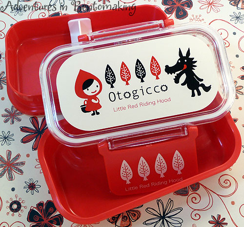 Red Riding Hood Bento Box