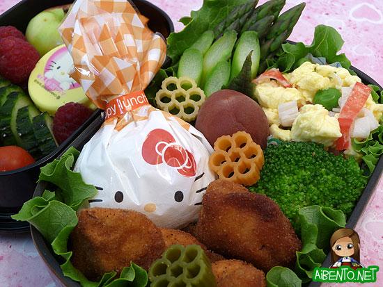 Fried Fish Bento