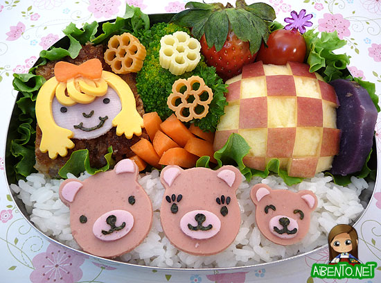 Goldilocks Bento