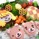 Goldilocks and the Three Bears Bento (330)
