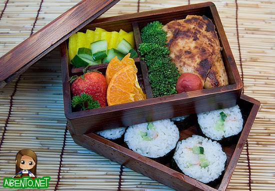 Miso Chicken Bento 2