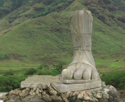 Foot Statue