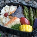 A Bento Tragedy and Two Salmon Bentos