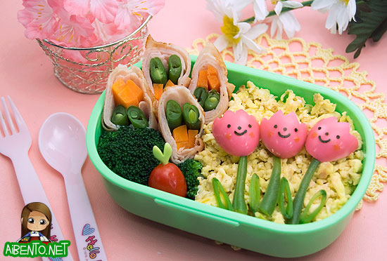 Tulips Bento