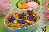Butterfly Pasta Bento (428)