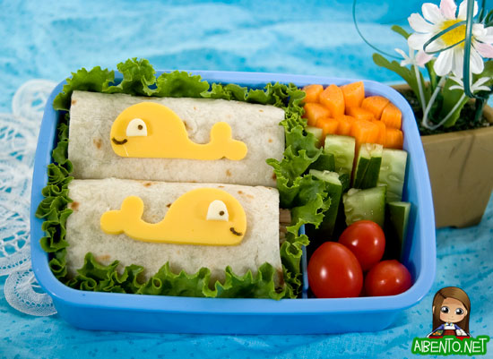Whale Friends Bento