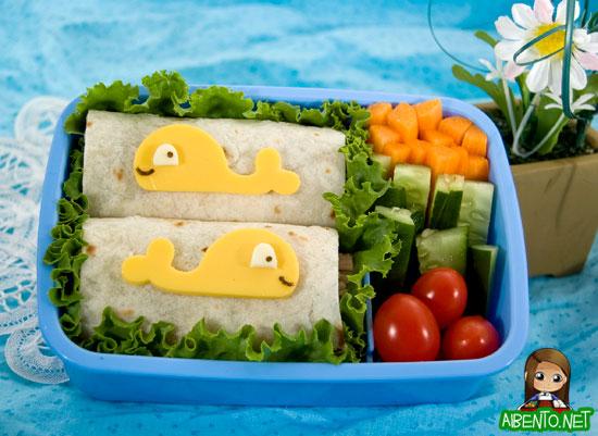 Whale Friends Bento