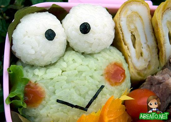 Keroppi Bento 2