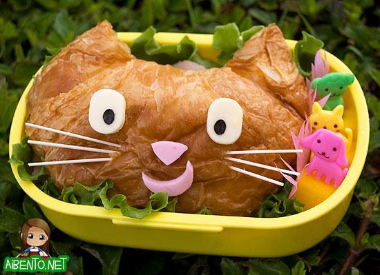 Kitty Crossainwich Bento
