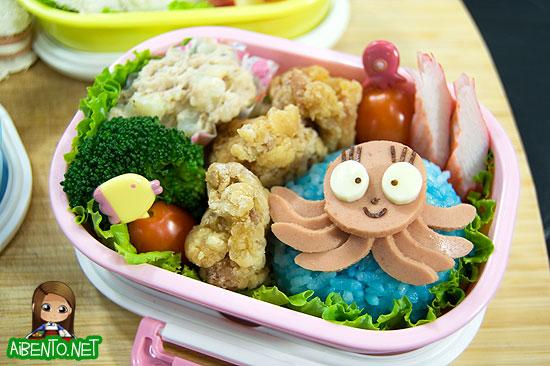 Miss Octopus Bento
