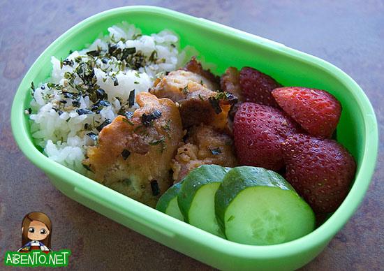 Mochiko Chicken Bento 2