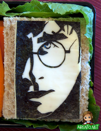 Harry Potter Sandwich Bento