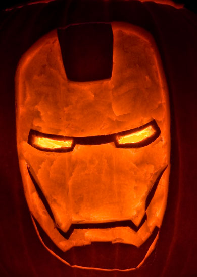 Iron-Man Pumpkin