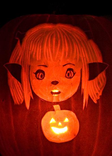 Lalafell Pumpkin