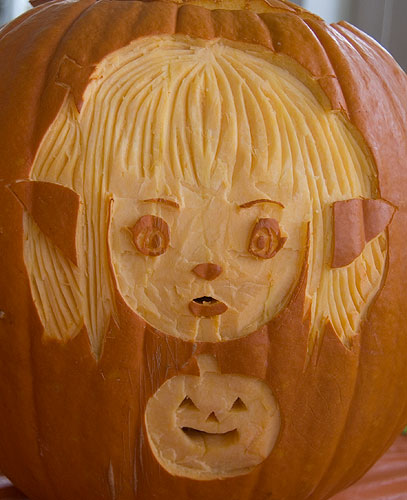 Lalafell Pumpkin Light