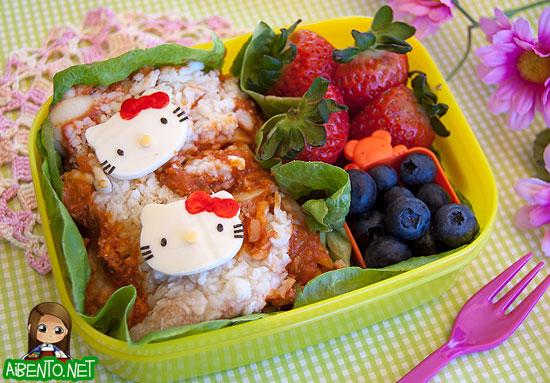Hello Kitty Lasagna Bento