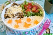 Taco Rice Bento (572)
