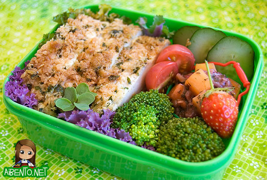 Chicken Scallopini Bento