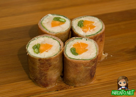 Pork Shiso Rolls