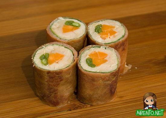 Pork Shiso Rolls