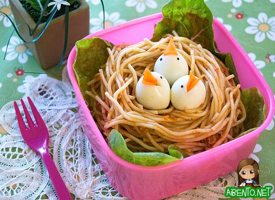 Baby Birds Bento