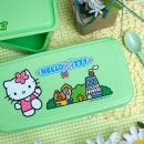 Bento Box #30 – Green Hello Kitty 2-Tier