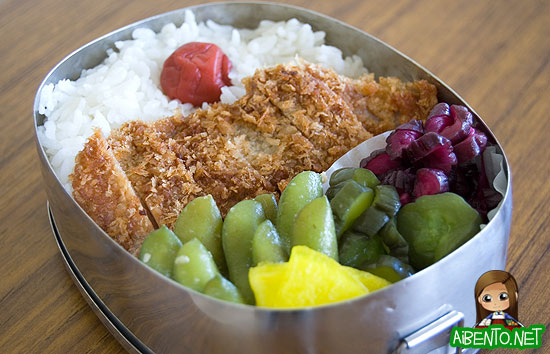 Pork Cutlet Bento
