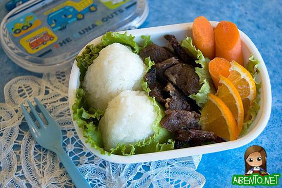 Mini Teri Beef Bento
