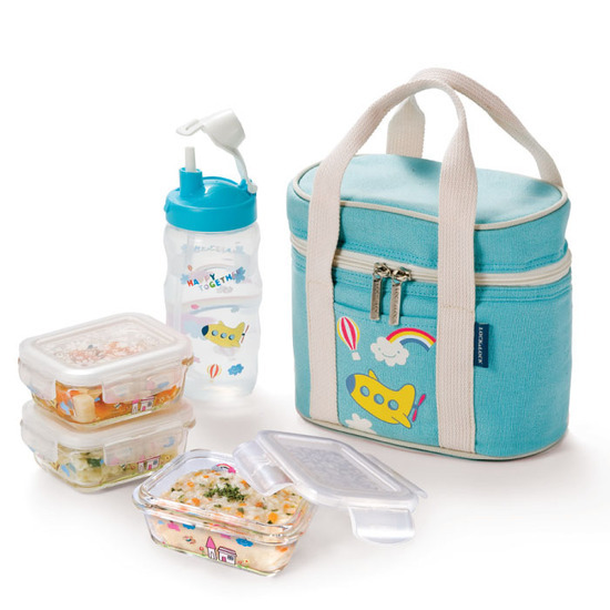 lock n lock happy hour baby lunch box set adventures in. Black Bedroom Furniture Sets. Home Design Ideas