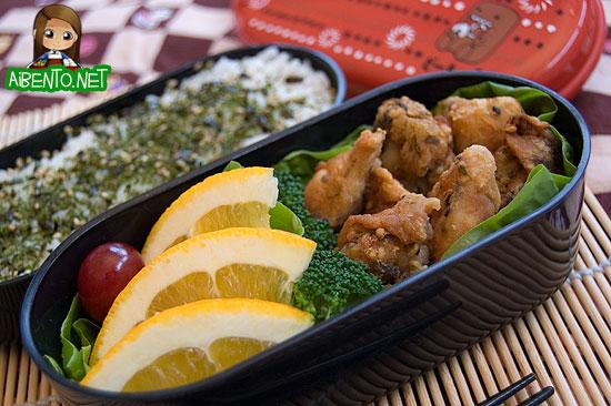 Furikake Chicken Bento