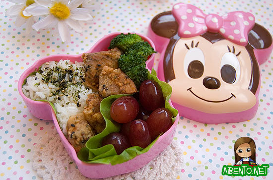 Baby Girl's Furikake Chicken Bento