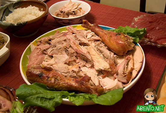 Cut up Turkey