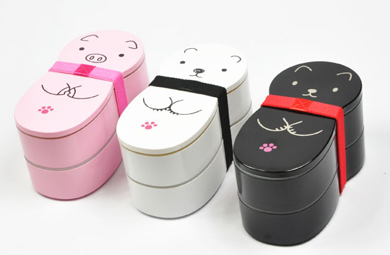 Animal Doll Bento Boxes