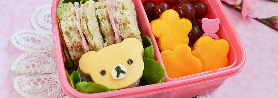 Rilakkuma Sandwich Bento