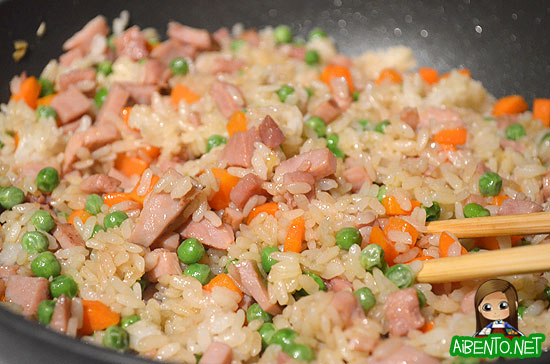 Yummy Ham Fried Rice