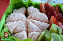Hearty Valentine's Day Sandwiches Bento with FunBites