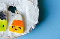 Tutorial: Halloween Cuties With Painted Cheese Part 1