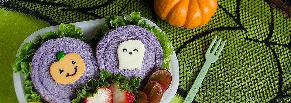 Halloween Sammies Bento