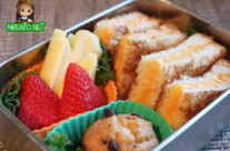 Mr. D Bento #3 – Grilled Cheese Triangles