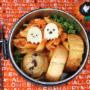 Haunted Chicken Parm Bento