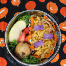 Bat Mac and Cheese Bento