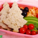 Christmas Tree Sandwich Kit Bento (151)