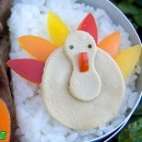 Gobble, Gobble! Turkey Bento (418)