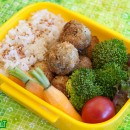 Fried Green Tomatoes Bento